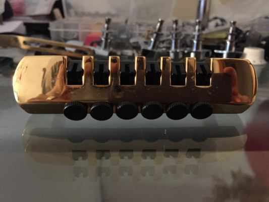 Schaller Fine-Tuning Tailpiece Dorado! - Envío Incluido!!