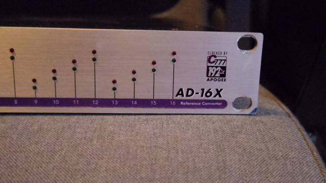 PACK convertidores AD/DA APOGEE ad16x da16x con PT HD card y cables AES/EBU