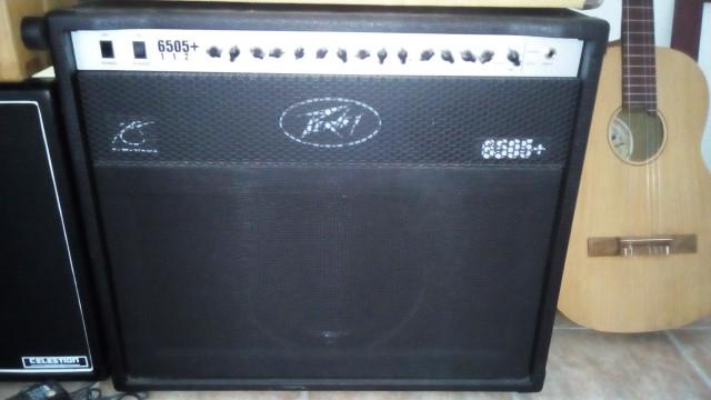 Peavey 6505+ 112 combo 60w válvulas con loop de fx modificado.