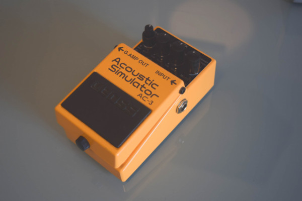 Boss AC-3 (Acoustic simulator)