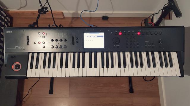 Korg M50. 61 teclas. Workstation - sintetizador y secuenciador