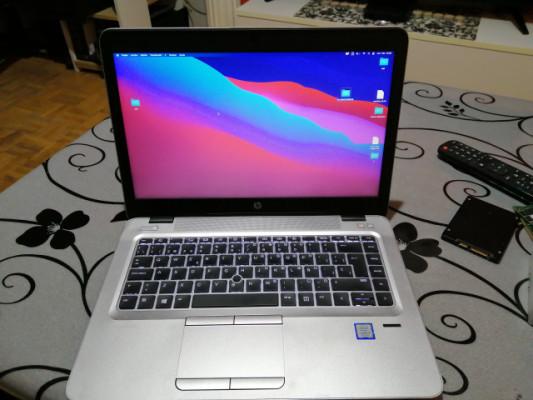 HP 840 G4 I7 Hackintosh o W10  32 GB ram