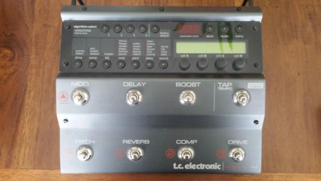 TC ELECTRONICS NOVA SYSTEM + G SWITCH