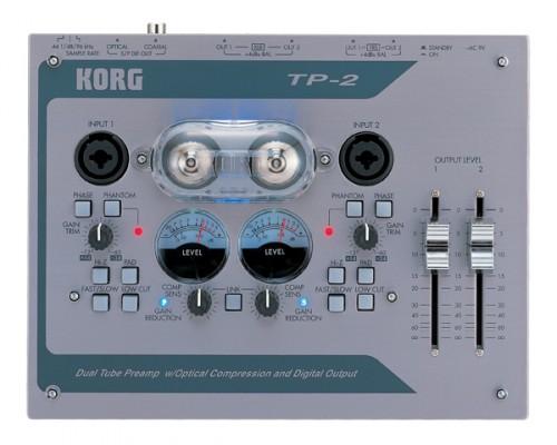 Vendo Preamplificador Korg TP2 Estereo a Valvulas