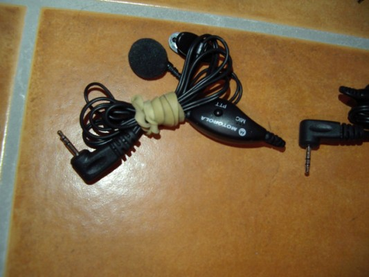 Auricular con micro Motorola para Walkie-Talkies