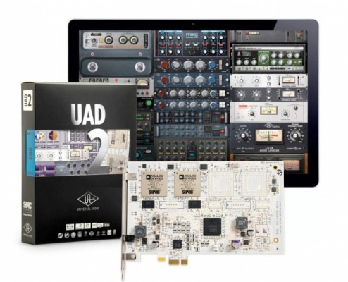 UAD-2 Duo + Cuenta de uad con 69 plug ins