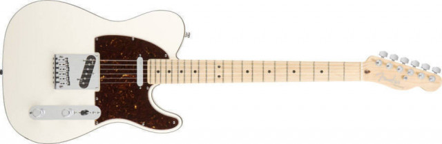american deluxe telecaster olympic pearl