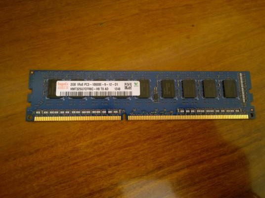 6GB (3x2GB) RAM DDR3 de Mac Pro 5.1
