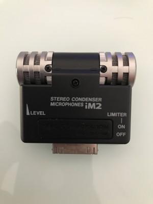 Microfono condensador stereo Tascam im2