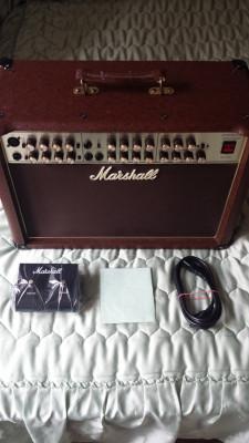 Amplificador guitarra acústica Acoustic Soloist Marshall AS 80 R