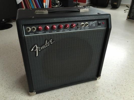 """Fender Champ 12 """"Red Knobs"""""""