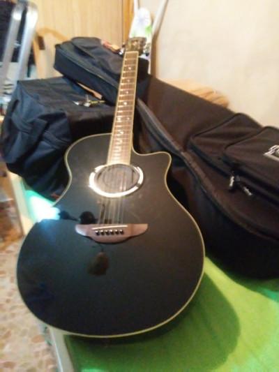 guitarra electroacústica yamahaapx 600 b