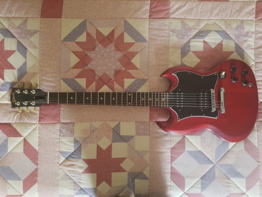 Gibson SG Faded Worm cherry 2016