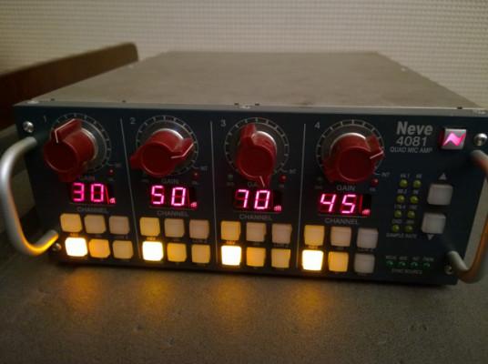 Preamplificador de 4 canales Neve 4081