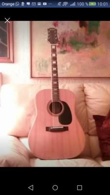 Vendo o cambio Guitarra acustica,Kiso Suzuki we150