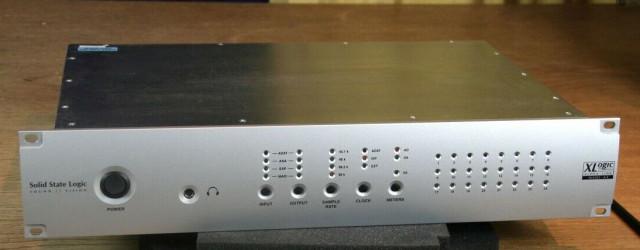 Solid State Logic XLogic Alpha-Link MADI SX AES/EBU AD/DA Converter