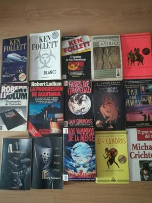 Lote 37 libros