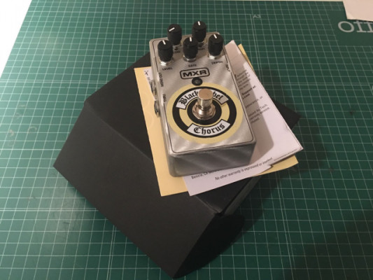 MXR Black Label Chorus (Zakk Wylde signature)