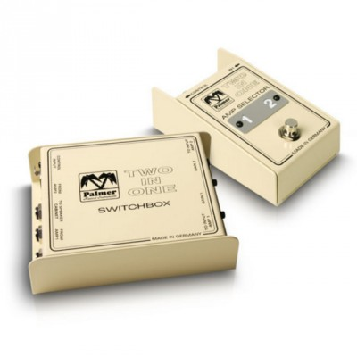 vendo palmer para conectar dos amplis a una caja  two in one
