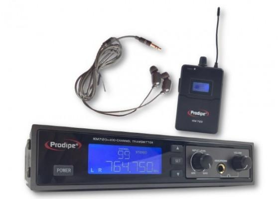 Sistema Monitor inalámbrico Prodipe IEM7120 - Exposición