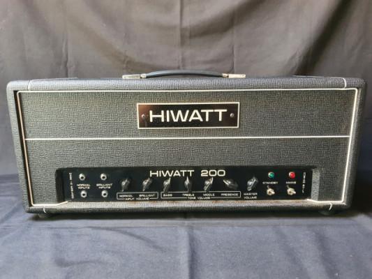 Hiwatt DR201 Custom Shop 200 Watt hand-wired in England.