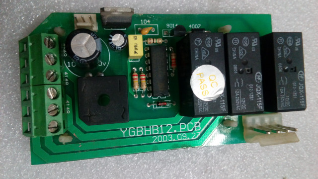 Placa YGBHB12.PCB para spot smart light impact 575 Pro