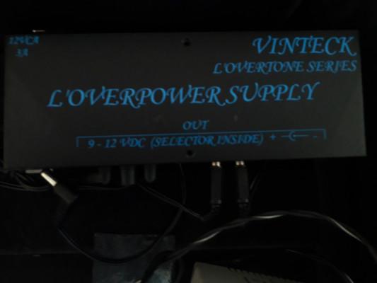 Vinteck Loverpower Supply 10 salidas de 9v o 12v