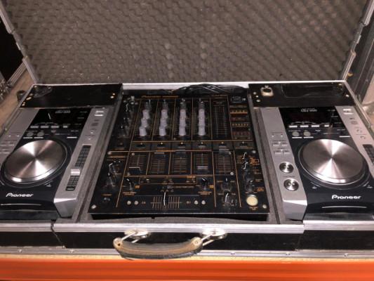DJ Set Pioneer DJM600 + 2 CDJ200