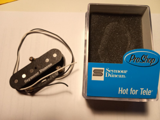Pastilla Seymour Duncan puente Telecaster STL-2 Hot For Tele