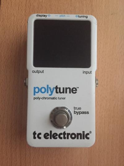Afinador Polytune de Tc electronic