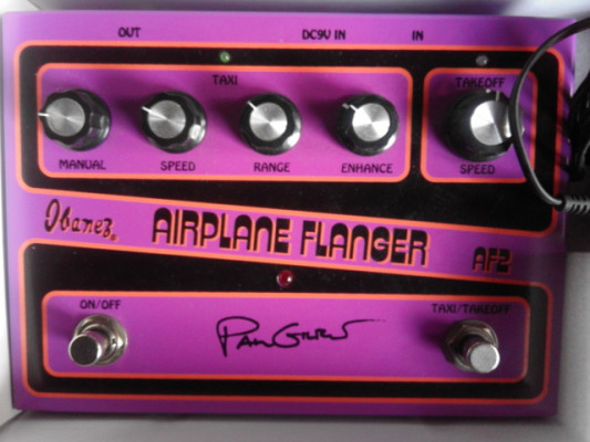 Flanger Airplane modelo Paul Gilbert