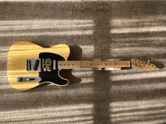 Fender American Vintage '52 Telecaster Butterscotch Blonde