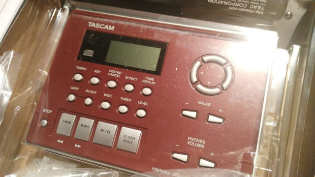 guitar trainer TASCAM CD-GT2