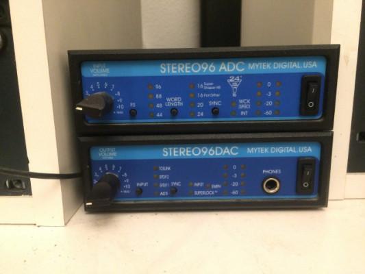 Mytek 96 DAC y ADC