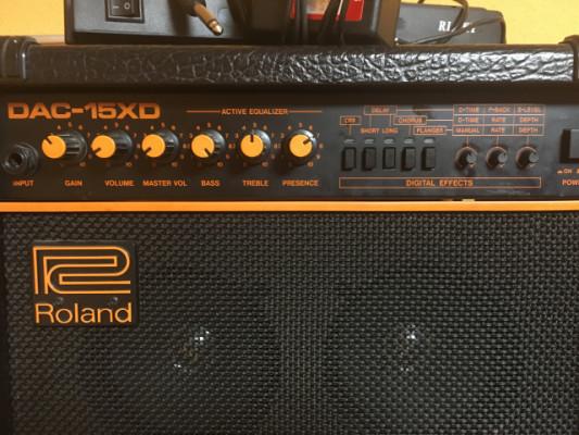 amplificador roland dac-15xd
