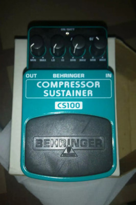 Compressor/sustainer behringer cs100