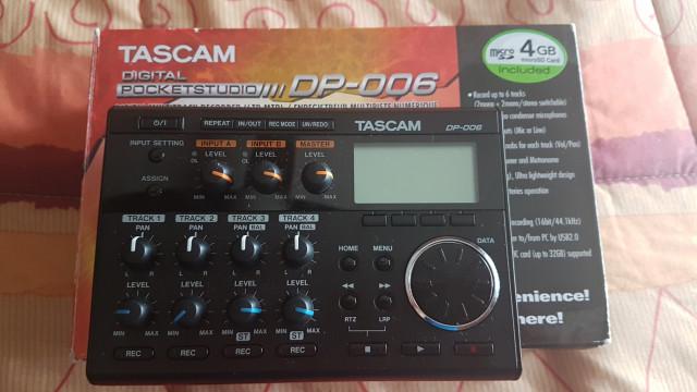Tascam dp006 envío incluido