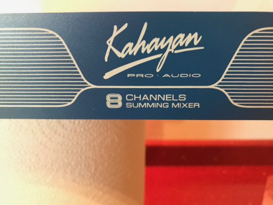 Sumador Kahayan Epsilon mini (8 IN / 2 OUT) Nuevo