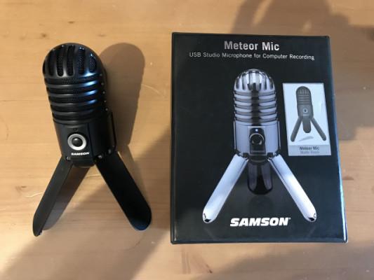 Micro Condensador USB Samson Meteor
