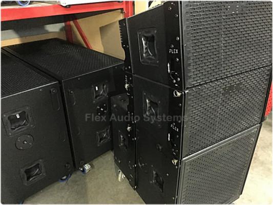 Line Array Flex Audio Systems 48.000W