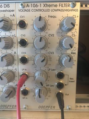 Doepfer A-106-1 Xtreme Filter (MS20)