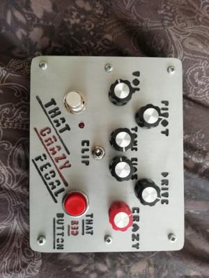 Crazy fuzz pedal