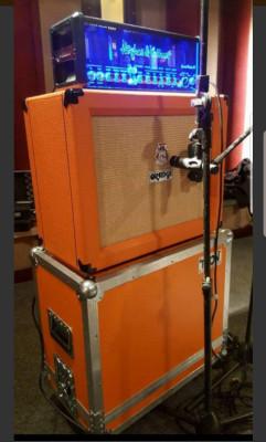 Hughes &..Grandmeister 36 + orange + flight case.