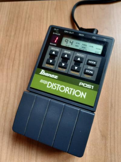 Ibanez PDS1 Distorsión