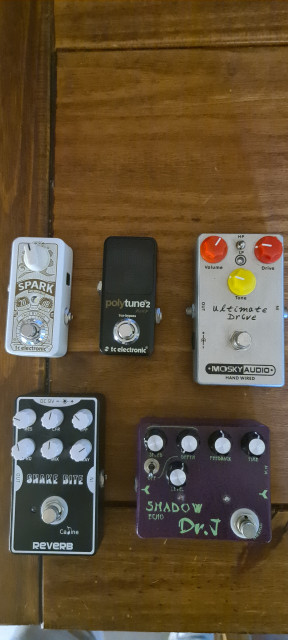 Reverb tape-delay overdrive Booster Turner