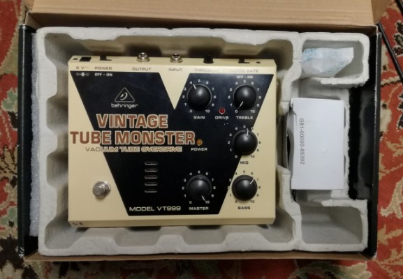 behringer Vintage Tube Monster