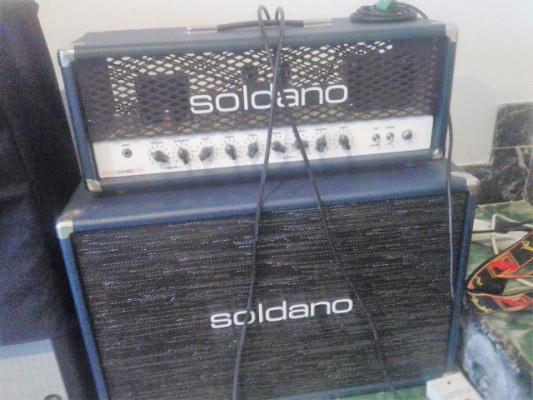 Soldano Hot Rod 50 Plus Head y pantalla