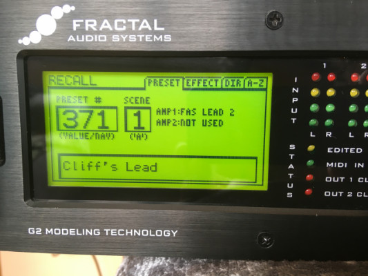 Fractal Axe FX 2-G 2 + Manual