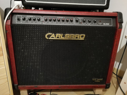 Carlsbro amplificador guitarra 100w