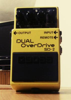 Boss SD-2 Dual OverDrive
